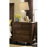 Laughton Rustic Two-drawer Nightstand Product Image