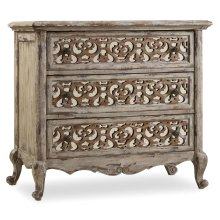 Bedroom Chatelet Fretwork Nightstand