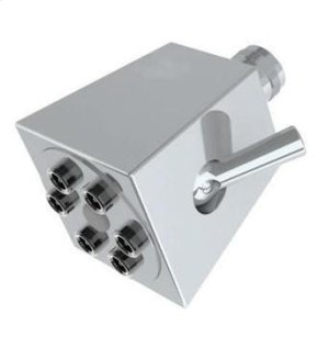6 Jet Shower Head 1.75 Gpm At 80 Psi Product Image
