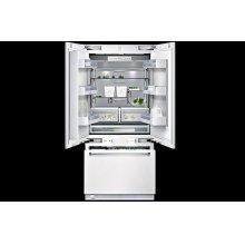 RY 491: 36-inch bottom freezer