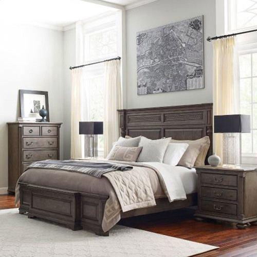 Greyson Logan Queen Panel Bed - Complete