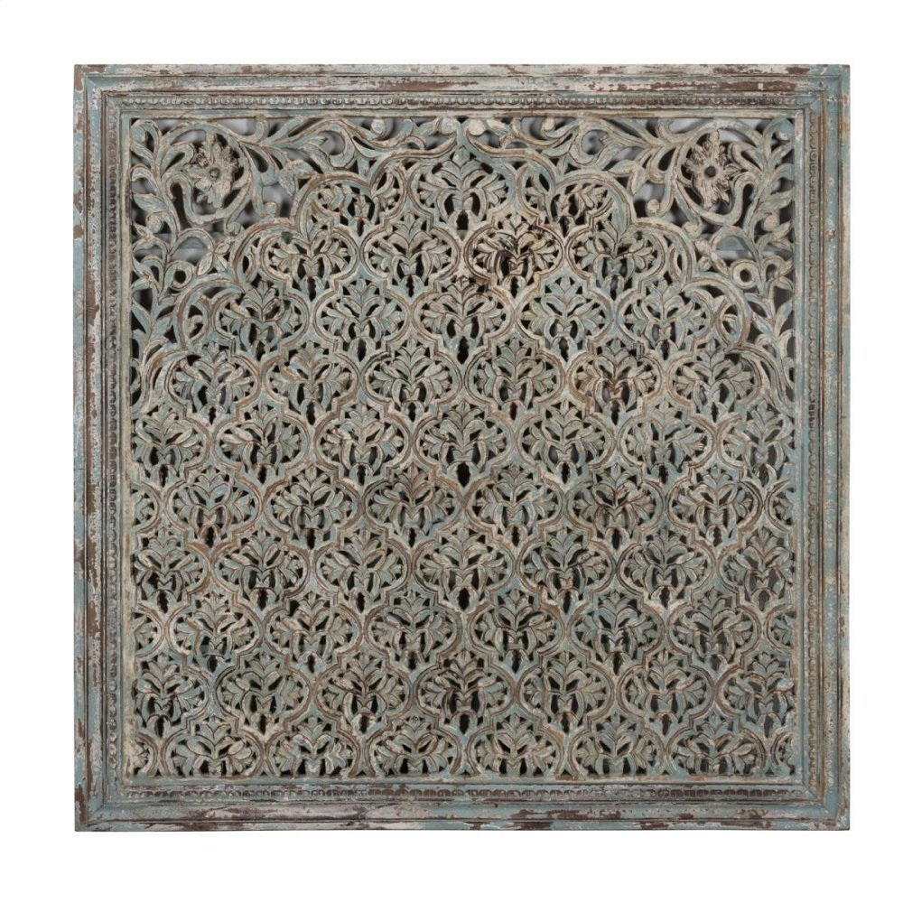 """Cheval Wood Carved Panel 60"""""""