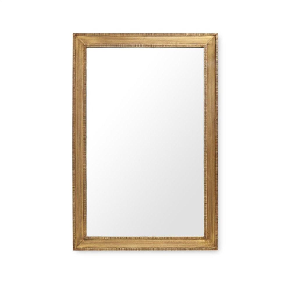 Ellen Large Mirror, Brass