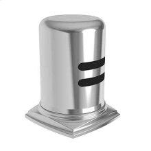 Weathered Brass Air Gap Cap & Escutcheon Only