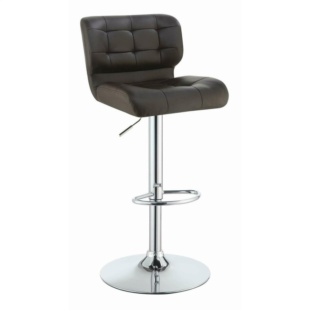 Modern Brown Adjustable Bar Stool