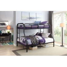 BLACK T/F BUNKBED KD VERSION