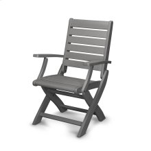 Slate Grey Signature Folding Chair