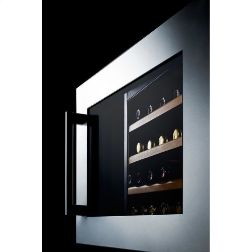 28 Bottle Fully Integrated Wine Cellar With Digital Controls and LED Lighting