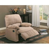 Casual Brown Motion Recliner Product Image
