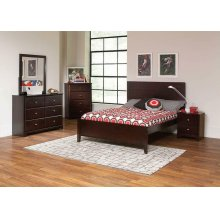 Ashton Cappuccino Full Bed