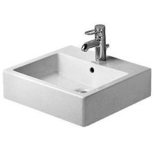 Vero Washbasin Ground Without Faucet Hole