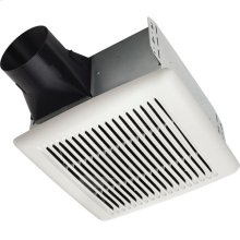 Flex DC Series Bathroom Exhaust Fan with selectable CFM Settings, ENERGY STAR® certified