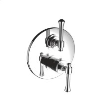 """7095at-tm - 1/2"""" Thermostatic Trim With Volume Control in Polished Chrome"""