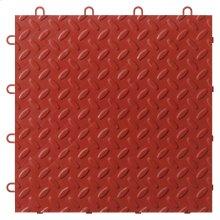 """12"""" x 12"""" Tile Flooring (48-Pack) Red"""