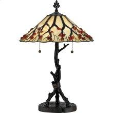 Agate Table Lamp in Valiant Bronze