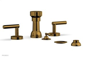 TRANSITION 1 Four Hole Bidet Set 120-61 - French Brass Product Image