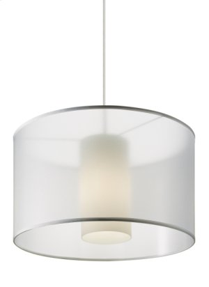 White Dillon Pendant Product Image