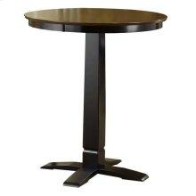Dynamic Designs Pub Table Brown Cherry/black