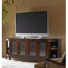 Glass Door Entertainment Credenza