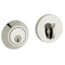 Polished Nickel with Lifetime Finish Contemporary Deadbolt