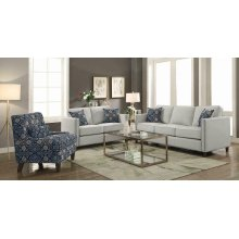 Coltrane Beige Three-piece Living Room Set