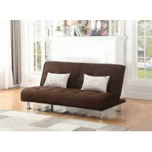 Ellwood Transitional Brown Sofa Bed