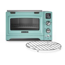 "12"" Convection Digital Countertop Oven Aqua Sky"