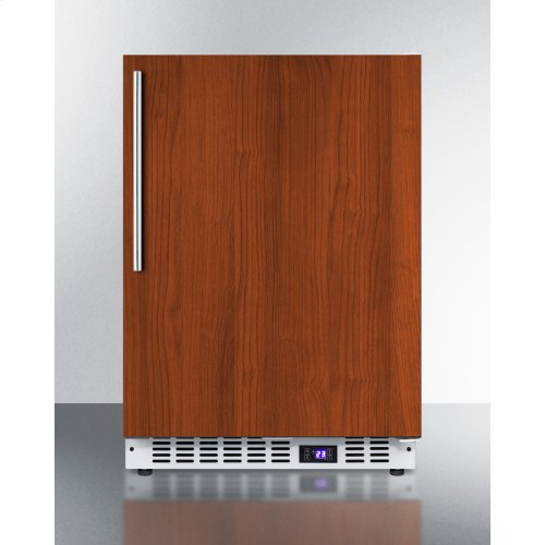 Frost-free Built-in Undercounter All-freezer for Residential or Commercial Use, With Panel-ready Door and White Cabinet