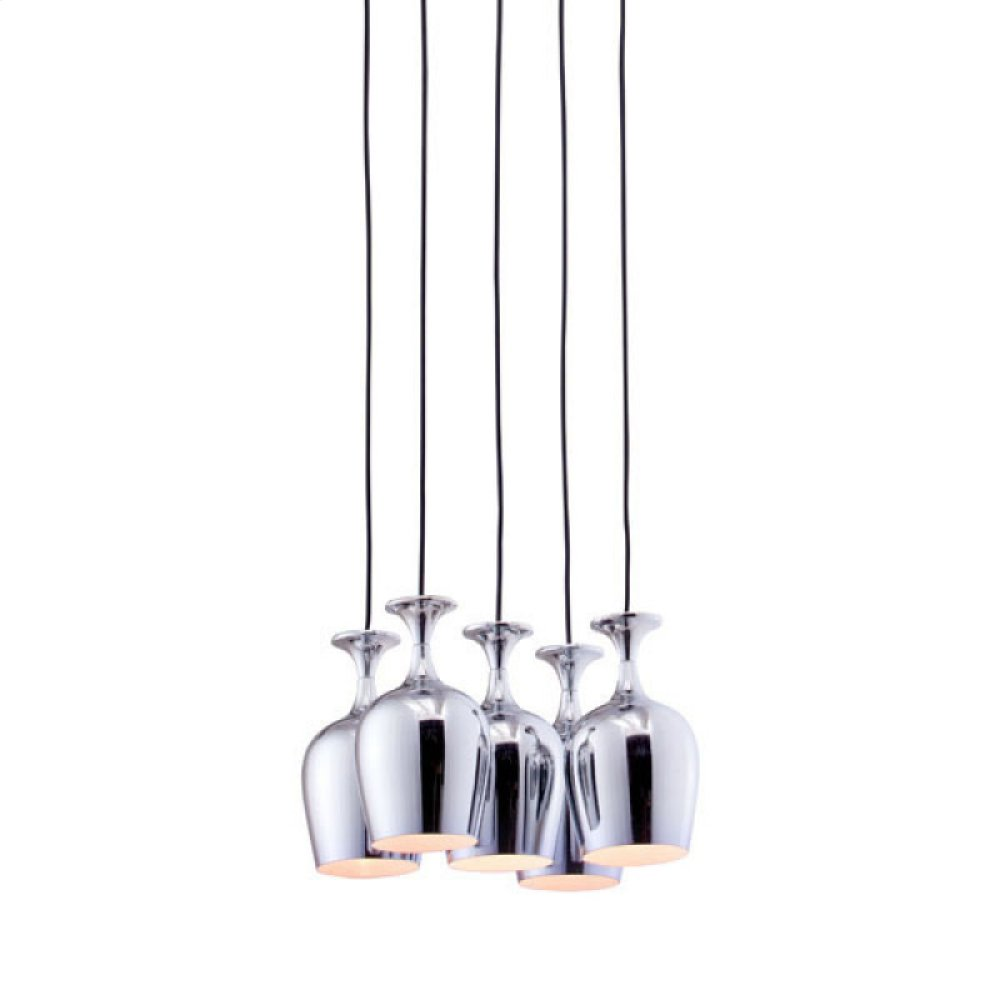 Ice Ceiling Lamp Chrome