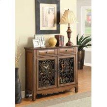 Traditional Warm Brown Two-door Cabinet