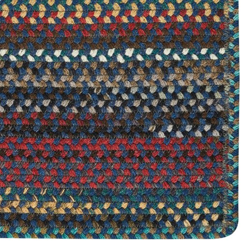 Yorktowne Navy Braided Rugs (Custom)