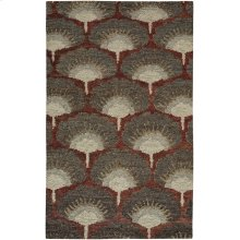 Isobel Garnet Hand Knotted Rugs