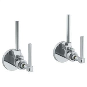 "Lavatory Angle Stop Kit -1/2"" Ips X 3/8"" Od Compression Product Image"