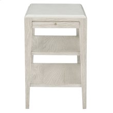 Domaine Blanc End Table in Dove White (374)