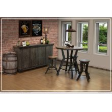 Bistro Table Wooden Base
