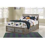 McKeeth - Gray 5 Piece Bed Set (Full) Product Image