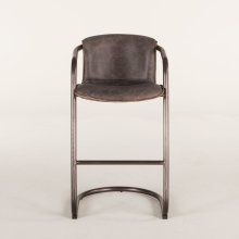 Portofino Bar Chair Antique Ebony