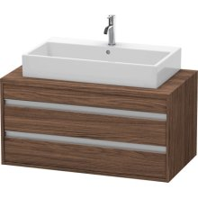 Ketho Vanity Unit For Console, Walnut Dark (decor)