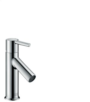 Chrome Single lever basin mixer 80 with lever handle for hand washbasins with pop-up waste set Product Image