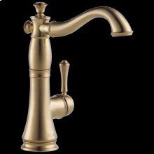 Champagne Bronze Single Handle Bar / Prep Faucet