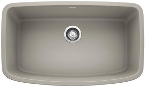 Blanco Valea® Super Single Bowl - Concrete Gray Product Image