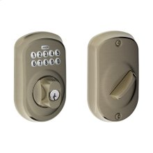 Plymouth Trim Keypad Deadbolt - Antique Pewter
