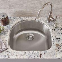 Portsmouth Undermount 23x21 Single Bowl Kitchen Sink  American Standard - Stainless Steel