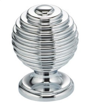 Modern Cabinet Knob in US26 (Polished Chrome Plated) Product Image