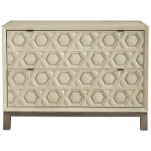 Santa Barbara Drawer Chest in Textured Cameo (385)