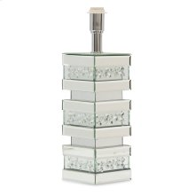 Silver Mirrored Lamp Base (2/pack) 199b