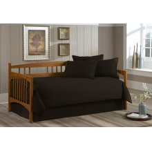 Paramount Daybed Collection Solid Black - Twin
