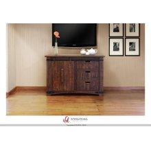 """50"""" TV Stand w/3 Drawer, 1 door w/2 shelves"""