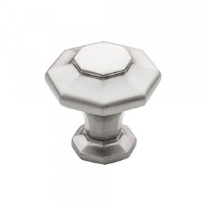 Palazzo Knob 1 3/8 Inch Brushed Satin Nickel Product Image