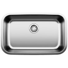 Blanco Stellar® Ada Single Bowl - Stainless Steel Refined Brushed Finish